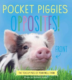 Pocket piggies opposites! : featuring the teacup pigs of Pennywell Farm / photos by Richard Austin. - photos by Richard Austin.
