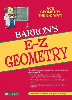 Barron's E-Z geometry - Lawrence S. Leff.
