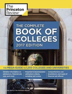 Complete Book of Colleges 2017