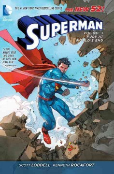 Superman vol. 3, Fury at World's End - Scott Lobdell, writer ; Kenneth Rocafor, artist ; Sunny Gho, Blond, colorists ; Rob Leigh, letterer ; Kenneth Rocafort 7 Sunny Gho, collection and original series cover artists ; Superman created by Jerry Siegel & Joe Shuster ; Superboy created by Jerry Siegel ; Supergirl based on characters by Jerry Siegel & Joe Shuster by special arrangement with the Jerry Siegel family.