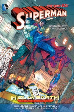 Superman: H'el on Earth - writers, Scott Lobdell, Tom Defalco, Mike Johnson ; artists, Kenneth Rocafort, Mahmud Asrar, R.B. Silva, Rob Lean, Ron Frenz, Roger Robinson, Iban Coello, Amilcar Pinna, Scott Hanna, Marc Deering, Tom Derenick, Julius Gopez, Yvel Guichet, Jonas Trindade ; colorists, Sunny Gho Blond, Dave McCaig, Tanya & Richard Horie, Jeromy Cox, David Curiel, Java Tartaglia, Nathan Eyring ; letterers, Travis Lanham, Rob Leigh.