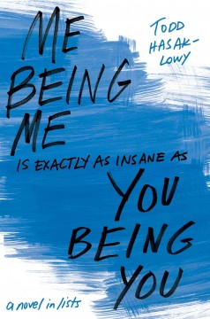 Me being me is exactly as insane as you being you /  Todd Hasak-Lowy. - Todd Hasak-Lowy.