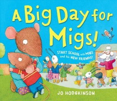 A big day for Migs - Jo Hodgkinson.