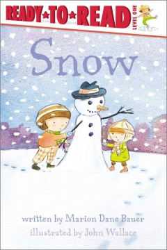 Snow /  written by Marion Dane Bauer ; illustrated by John Wallace.