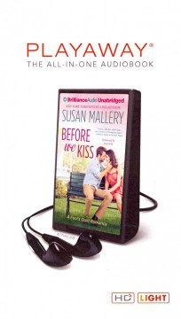 Before we kiss - Susan Mallery.