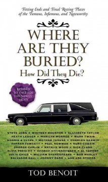 Where are they buried? : how did they die - Tod Benoit.