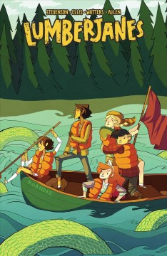 Lumberjanes 3, A terrible plan /  written by Noelle Stevenson & Shannon Watters ; illustrated by Carolyn Nowak [and six others] ; colors by Maarta Laiho ; cover by Noelle Stevenson.