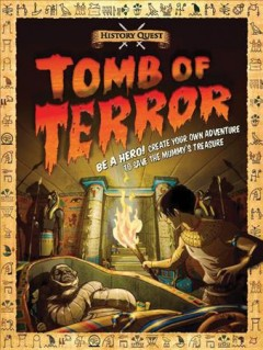 Tomb of terror - by Timothy Knapman.