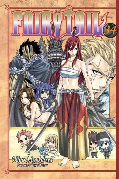 FairyTail Volume 34, Castle crashing! /  Hiro Mashima ; translation: William Flanagan. - Hiro Mashima ; translation: William Flanagan.
