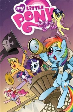 My little pony : friendship is magic, Vol. 4 - written by Heather Nuhfer ; art by Brenda Hickey & Amy Mebberson ; colors by Heather Breckel ; letters by Neil Uyetake ; edited by Bobby Curnow.