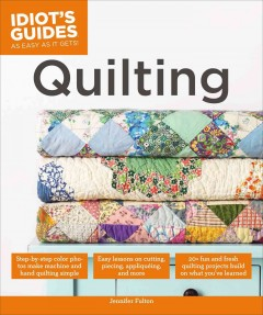 Quilting - by Jennifer Fulton.