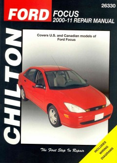 Ford Focus 2000-11 repair manual - by Jay Storer.