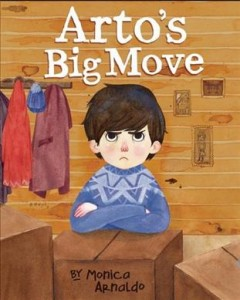 Arto's big move - written and illustrated by Monica Arnaldo.