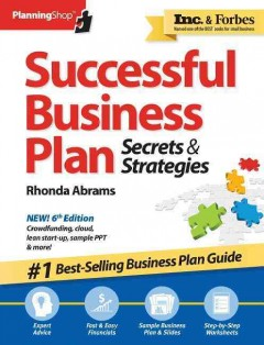 Successful Business Plan : Secrets & Strategies, America's Best-Selling Business Plan Guide!