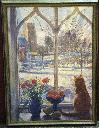 Snow shadows and cat /Timothy Easton. - Easton, Timothy.