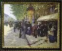 Paris on boulevard /Jean Beraud. - Beraud, Jean, 1849-1935.