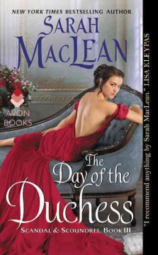 The day of the duchess /  Sarah MacLean.