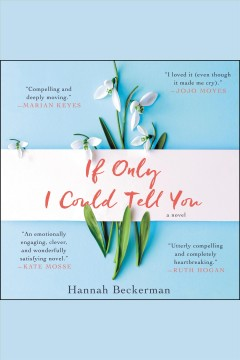 If only I could tell you : a novel / Hannah Beckerman.