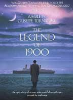 The legend of 1900 /  Fineline Features ; Medusa Films presents a Giuseppe Tornatore film ; written by Giuseppe Tornatore ; produced by Sciarlò ; a Medusa Film production ; directed by Giuseppe Tornatore. - Fineline Features ; Medusa Films presents a Giuseppe Tornatore film ; written by Giuseppe Tornatore ; produced by Sciarlò ; a Medusa Film production ; directed by Giuseppe Tornatore.