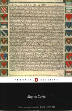 Magna Carta /  with a new commentary by David Carpenter.