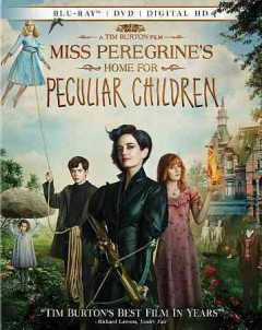 Miss Peregrine's home for peculiar children /  Twentieth Century Fox presents A Chernin Entertainment Production ; producers, Peter Chernin, Jenno Topping ; screenplay, Jane Goldman ; directed by Tim Burton. - Twentieth Century Fox presents A Chernin Entertainment Production ; producers, Peter Chernin, Jenno Topping ; screenplay, Jane Goldman ; directed by Tim Burton.