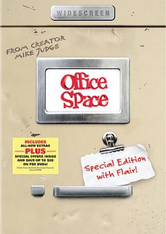 Office space /  Twentieth Century Fox presents a Mike Judge film ; produced by Michael Rotenberg, Daniel Rappaport ; written for the screen and directed by Mike Judge. - Twentieth Century Fox presents a Mike Judge film ; produced by Michael Rotenberg, Daniel Rappaport ; written for the screen and directed by Mike Judge.