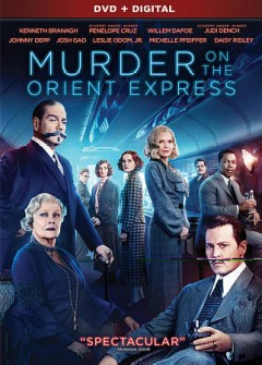 Murder on the Orient Express /  Twentieth Century Fox presents ; directed by Kenneth Branagh ; screenplay by Michael Green ; produced by Ridley Scott, Mark Gordon, Simon Kinberg, Kenneth Branagh, Judy Hofflund, Michael Schaefer ; a Kinberg Genre, Mark Gordon Company, Scott Free production ; a Kenneth Branagh film. - Twentieth Century Fox presents ; directed by Kenneth Branagh ; screenplay by Michael Green ; produced by Ridley Scott, Mark Gordon, Simon Kinberg, Kenneth Branagh, Judy Hofflund, Michael Schaefer ; a Kinberg Genre, Mark Gordon Company, Scott Free production ; a Kenneth Branagh film.