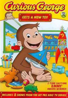 Curious George gets a new toy.