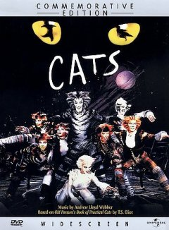 Cats /  Polygram Visual Programming ; Really Useful Films presents ; music by Andrew Lloyd Webber ; musical staging and choreography by Gillian Lynne ; produced by Andrew Lloyd Webber ; directed by David Mallet.