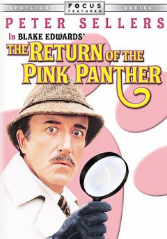 The return of the Pink Panther /  ITC, Jewel Productions Ltd. and Pimlico Films Ltd. present ; screenplay by Frank Waldman and Blake Edwards ; produced & directed by Blake Edwards.