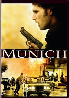 Munich /  directed by Steven Spielberg ; screenplay by Tony Kushner and Eric Roth ; produced by Kathleen Kennedy, Steven Spielberg, Barry Mendel, Colin Wilson ; director of photography, Janusz Kaminski ; a Universal Pictures and DreamWorks Pictures presentation in association with Alliance Atlantis Communications ; Amblin Entertainment. - directed by Steven Spielberg ; screenplay by Tony Kushner and Eric Roth ; produced by Kathleen Kennedy, Steven Spielberg, Barry Mendel, Colin Wilson ; director of photography, Janusz Kaminski ; a Universal Pictures and DreamWorks Pictures presentation in association with Alliance Atlantis Communications ; Amblin Entertainment.