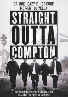 Straight outta Compton /  Universal Pictures and Legendary Pictures present in association with New Line Cinema/Cubevision/Crucial Films a Broken Chair Flickz production ; produced by Ice Cube [and five others] ; screenplay by Jonathan Herman and Andrea Berloff ; directed by Gary Gray.