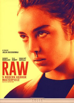 Raw /  Focus World presents a Petit Film ; Rouge International ; Frakas Productions ; Ezekiel Film Production ; Wild Bunch ; produced by Jean des Forêts [and four others] ; written and directed by Julia Ducournau.