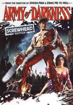 Army of darkness /  Dino De Laurentiis Communication presents a Renaissance Pictures Production ; written by Sam Raimi & Ivan Raimi ; produced by Robert Tapert ; directed by Sam Raimi ; a Universal release.