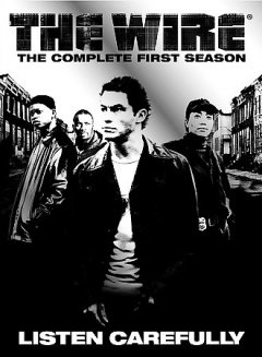 The wire : the complete first season [5-disc set] / producer, Nina Kostroff Noble ; created by David Simon ; story by David Simon & Edward Burns ; Blown Deadline Productions ; a presentation of Home Box Office. - producer, Nina Kostroff Noble ; created by David Simon ; story by David Simon & Edward Burns ; Blown Deadline Productions ; a presentation of Home Box Office.