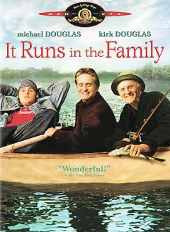 It runs in the family /  Metro-Goldwyn-Mayer Pictures and Buena Vista International present a Furthur Films production, a Fred Schepisi film ; produced by Michael Douglas ; written by Jesse Wigutow ; directed by Fred Schepisi.