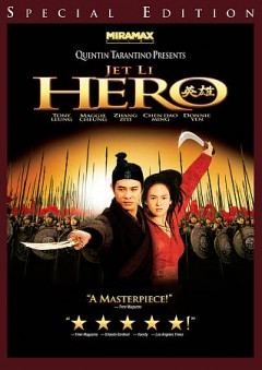 Hero /  Miramax Films presents in association with Elite Group Enterprises Inc., an Edko Films, Zhang Yimou Studio Production in collaboration with China Film Co-Production Corporation, Sil-Metropole Organisation Limited and Beijing New Picture Film Co. Ltd., a Zhang Yimou film ; produced by Bill Kong, Zhang Yimou ; screenplay by Li Feng, Zhang Yimou, Wang Bin ; directed by Zhang Yimou. - Miramax Films presents in association with Elite Group Enterprises Inc., an Edko Films, Zhang Yimou Studio Production in collaboration with China Film Co-Production Corporation, Sil-Metropole Organisation Limited and Beijing New Picture Film Co. Ltd., a Zhang Yimou film ; produced by Bill Kong, Zhang Yimou ; screenplay by Li Feng, Zhang Yimou, Wang Bin ; directed by Zhang Yimou.