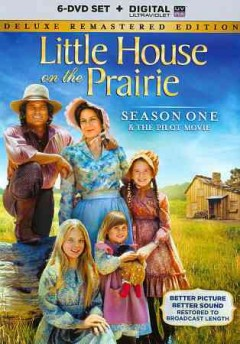 Little house on the prairie : season one & the pilot movie [6-disc set] / written by Blanche Hanalis, John Hawkins, Juanita Bartlett, Ward Hawkins, Joel Murcott [and others] ; directed by Michael Landon, William F. Claxton, Victor French, Alf Kjellin, Leo Penn [and others].