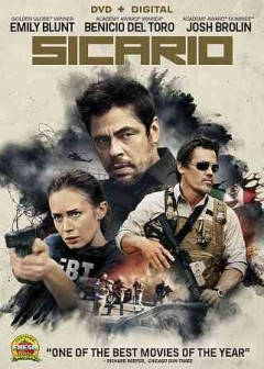 Sicario /  Lionsgate and Black Label Media present ; a Thunder Road Production ; a Denis Villeneuve film ; produced by Basil Iwanyk, Edward L. McDonnell, Molly Smith, Thad Luckinbill ; written by Taylor Sheridan ; directed by Denis Villeneuve. - Lionsgate and Black Label Media present ; a Thunder Road Production ; a Denis Villeneuve film ; produced by Basil Iwanyk, Edward L. McDonnell, Molly Smith, Thad Luckinbill ; written by Taylor Sheridan ; directed by Denis Villeneuve.