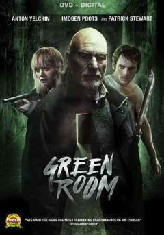 Green room /  Broad Green Pictures and Film Science ; executive producers, Daniel Hammond, Gabriel Hammond, Vincent Savino ; produced by, Neil Kopp, Anish Savjani, Victor Moyers ; written and directed by Jeremy Saulnier. - Broad Green Pictures and Film Science ; executive producers, Daniel Hammond, Gabriel Hammond, Vincent Savino ; produced by, Neil Kopp, Anish Savjani, Victor Moyers ; written and directed by Jeremy Saulnier.