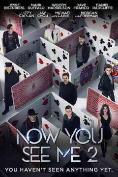 Now you see me 2 /  Summit Entertainment presents in association with TIK Films ; a K/O Paper Products production ; a Jon M. Chu film ; produced by Alex Kurtzman, Roberto Orci, Bobby Cohen ; story by Ed Solomon & Peter Chiarelli ; screenplay by Ed Solomon ; directed by Jon M. Chu.