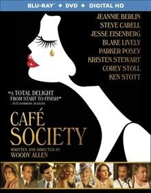Café society /  Amazon Studios presents in association with Gravier Productions ; a Perdido production ; producers, Letty Aronson, Stephen Tenenbaum, Edward Walson ; director and writer, Woody Allen. - Amazon Studios presents in association with Gravier Productions ; a Perdido production ; producers, Letty Aronson, Stephen Tenenbaum, Edward Walson ; director and writer, Woody Allen.