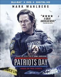 Patriots Day /  directed by Peter Berg ; screenply by Peter Berg & Matt Cook and Joshua Zetumer ; story by Peter Berg & Matt Cook and Paul Tamasy & Eric Johnson ; produced by Scott Stuber, Dylan Clark, Mark Wahlberg, Stephen Levinson, Hutch Parker, Dorothy Aufiero, Michael Radutzky ; a CBS Films and Lionsgate presentation in association with TIK Films (Hong Kong) Ltd. ; a Closest To The Hole/Leverage Entertainment production ; a Bluegrass Films production ; a Hutch Parker Entertainment production ; a Peter Berg film. - directed by Peter Berg ; screenply by Peter Berg & Matt Cook and Joshua Zetumer ; story by Peter Berg & Matt Cook and Paul Tamasy & Eric Johnson ; produced by Scott Stuber, Dylan Clark, Mark Wahlberg, Stephen Levinson, Hutch Parker, Dorothy Aufiero, Michael Radutzky ; a CBS Films and Lionsgate presentation in association with TIK Films (Hong Kong) Ltd. ; a Closest To The Hole/Leverage Entertainment production ; a Bluegrass Films production ; a Hutch Parker Entertainment production ; a Peter Berg film.