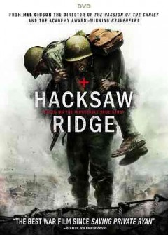 Hacksaw Ridge /  Summit Entertainment and Cross Creek Pictures present ; in assoctiation with Demarest Films and Argent Pictures ; a Pandemonium Films / Permut Presentations ; produced by David Permut, Bill Mechanic [and five others] ; written by Robert Schenkkan, Andrew Knight ; directed by Mel Gibson.