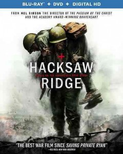 Hacksaw Ridge /  Summit Entertainment and Cross Creek Pictures present ; produced by Bill Mechanic [and five others] ; screenplay by Robert Schenkkan, Andrew Knight ; directed by Mel Gibson. - Summit Entertainment and Cross Creek Pictures present ; produced by Bill Mechanic [and five others] ; screenplay by Robert Schenkkan, Andrew Knight ; directed by Mel Gibson.