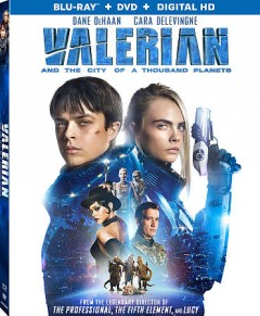 Valerian and the city of a thousand planets /  Europacorp Films USA presents ; directed by Luc Besson ; writers, Pierre Christin, Jean-Claude Mezieres, Luc Besson ; producer, Virginie Besson-Silla. - Europacorp Films USA presents ; directed by Luc Besson ; writers, Pierre Christin, Jean-Claude Mezieres, Luc Besson ; producer, Virginie Besson-Silla.