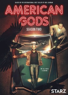 American gods : season 2 [3-disc set].