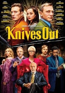Knives out /  Lionsgate and MRC present ; a T-Street production ; a film by Rian Johnson ; produced by Ram Bergman, Rian Johnson ; written and directed by Rian Johnson.