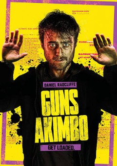Guns akimbo /  Saban Films presernts ; an Occupant Entertainment production ; in co-operation with Four Knights Film and Maze Pictures ; in co-production with Cutting Edge, the Electric Shadow Company Limited, Umedia, Ingeinous Media, WS Filmproduktion, Deutscher Filmförderfonds, and Filmfernsehfonds ; in association with Hyperion Media and the New Zealand Film Commission ; a film by Jason Lei Howden ; co-producers, Philipp Kreuzer, Jörg Schulze ; produced by Joe Neurauter, Felipe Marino, Tom Hern ; written and directed by Jason Lei Howden. - Saban Films presernts ; an Occupant Entertainment production ; in co-operation with Four Knights Film and Maze Pictures ; in co-production with Cutting Edge, the Electric Shadow Company Limited, Umedia, Ingeinous Media, WS Filmproduktion, Deutscher Filmförderfonds, and Filmfernsehfonds ; in association with Hyperion Media and the New Zealand Film Commission ; a film by Jason Lei Howden ; co-producers, Philipp Kreuzer, Jörg Schulze ; produced by Joe Neurauter, Felipe Marino, Tom Hern ; written and directed by Jason Lei Howden.