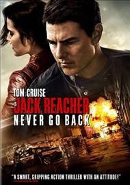 Jack Reacher : Never go back / Paramount Pictures and Skydance present ; a Tom Cruise production ; an Edward Zwick film ; produced by Tom Cruise, Don Granger, Christopher McQuarrie ; screenplay by Richard Wenk and Edward Zwick & Marshall Herskovitz ; directed by Edward Zwick.
